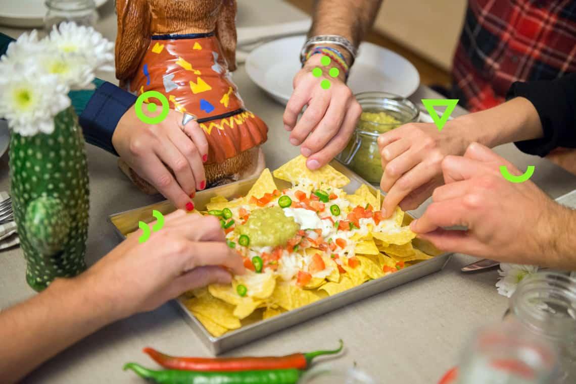cena tex-mex   tutte le ricette - gnambox.com - Cena Con Amici Cosa Cucinare
