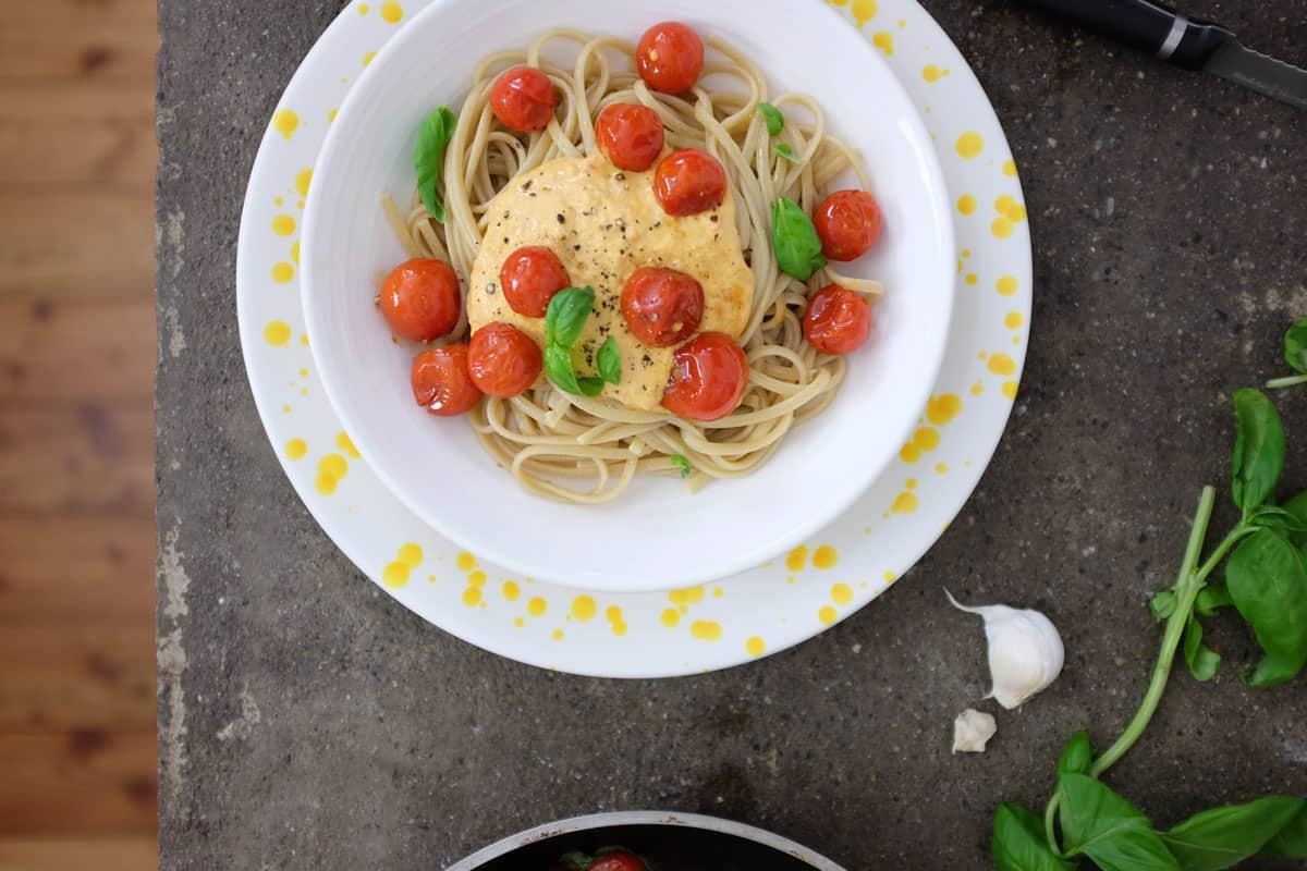 linguine-integrali-salsa-noci-pomodorini-07