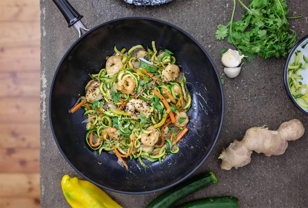 wok-spaghetti-zucchine-gamberi-11